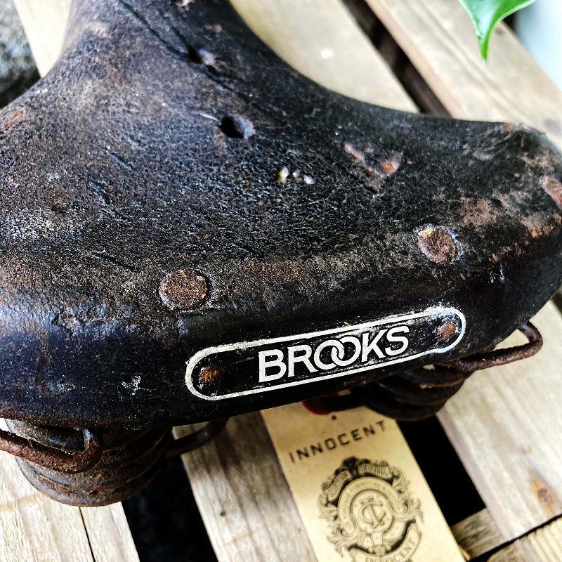 105667 ヴィンテージ 「BROOKS」 ブルックス サドル シート 自転車
