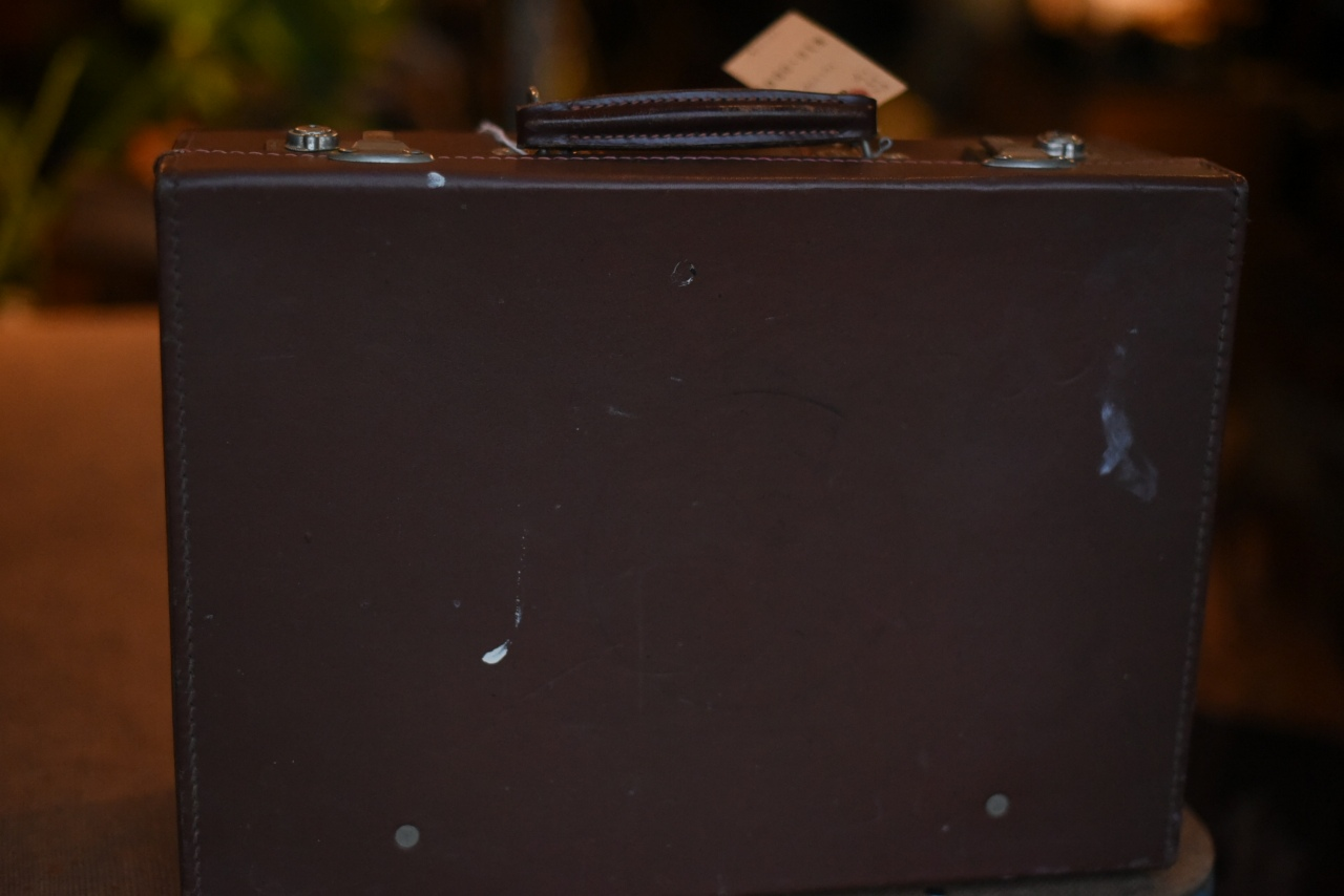 101778 UK ヴィンテージ トランクケース 革鞄