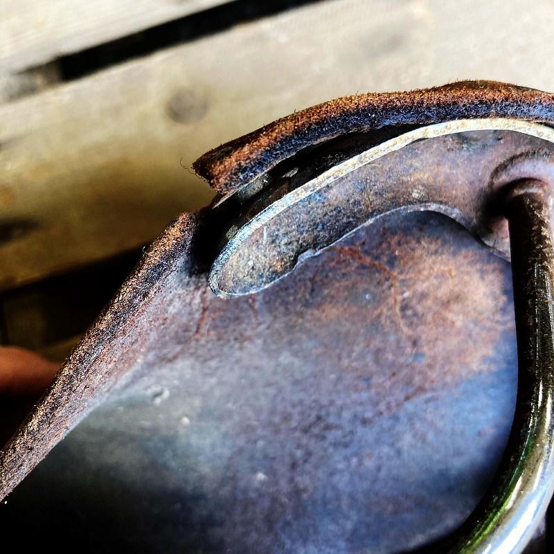 105665 ヴィンテージ 「BROOKS」 ブルックス サドル シート 自転車