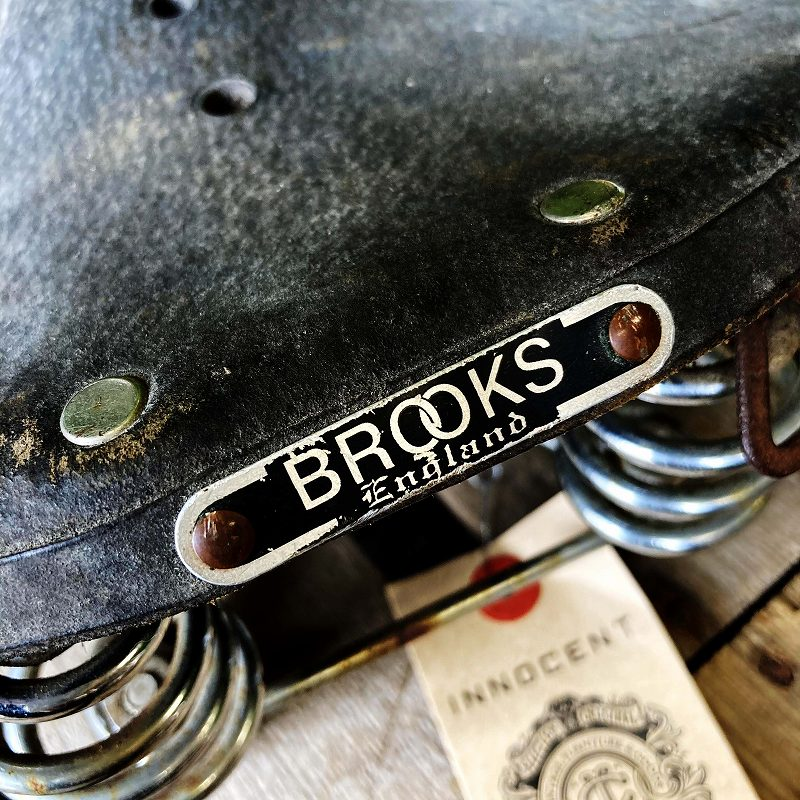 105666 ヴィンテージ 「BROOKS」 ブルックス サドル シート 自転車