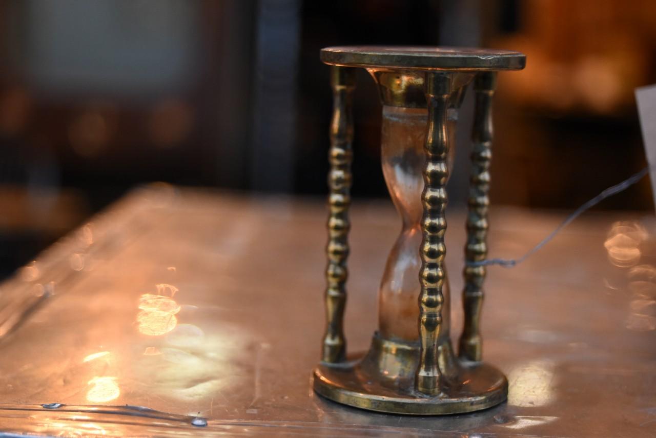 真鍮 ブラス 砂時計 英国 101166
