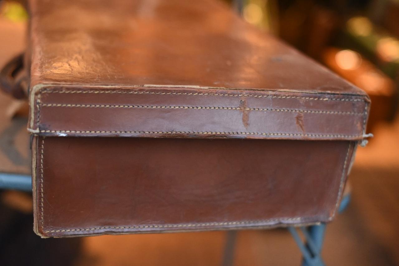 102739 UK ヴィンテージ トランクケース 革鞄
