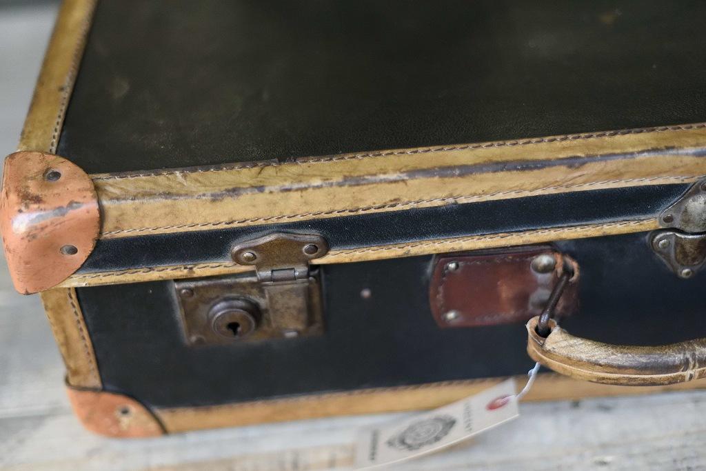 104905 ヴィンテージ トランクケース 革鞄 ドイツ製 鍵付属