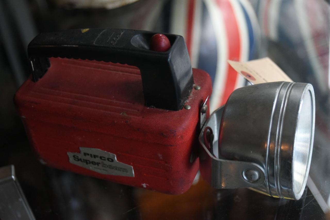 102079 UK ヴィンテージ ライト 懐中電灯