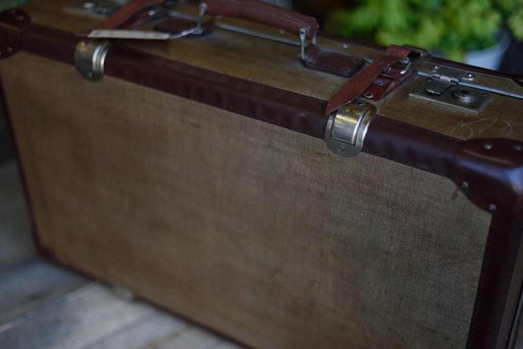 104882 ヴィンテージ トランクケース 革鞄 ドイツ製
