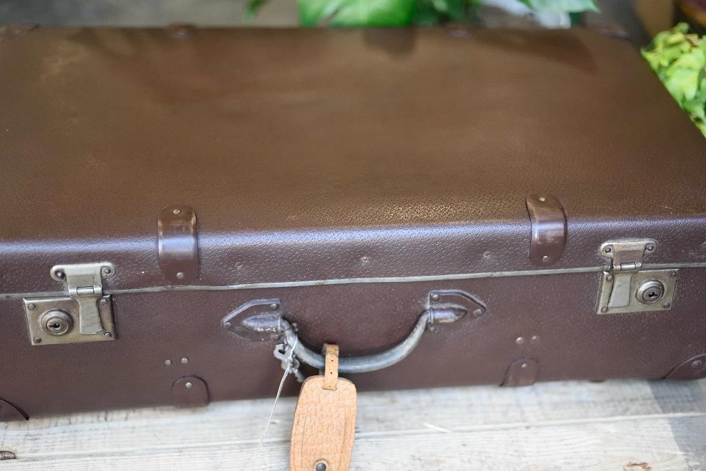104885 ヴィンテージ トランクケース 革鞄 ドイツ製 鍵付属