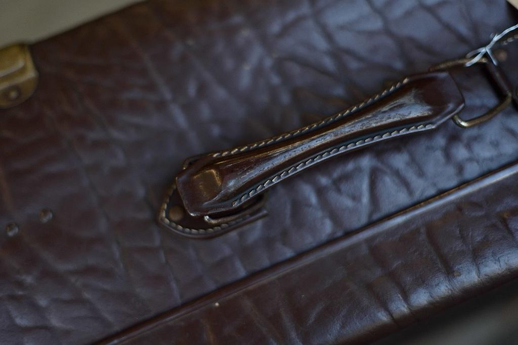 104884 ヴィンテージ トランクケース 革鞄 ドイツ製
