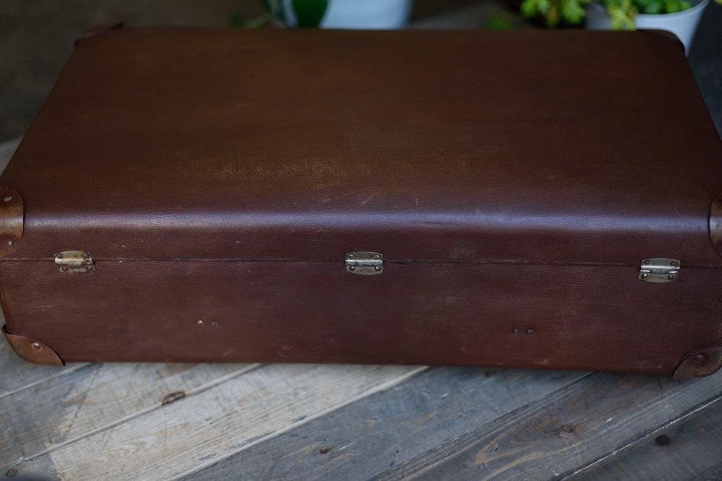 104906 ヴィンテージ 「KINDELBRUK」 トランクケース 革鞄 ドイツ製