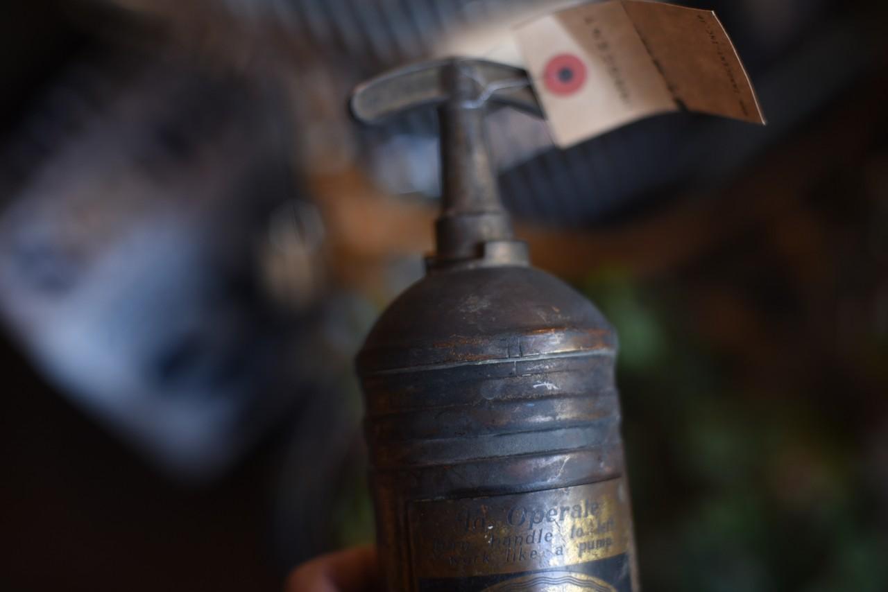 UK 消火器 FIRE EXTINGUISHER 真鍮 ブラス 英国 101101