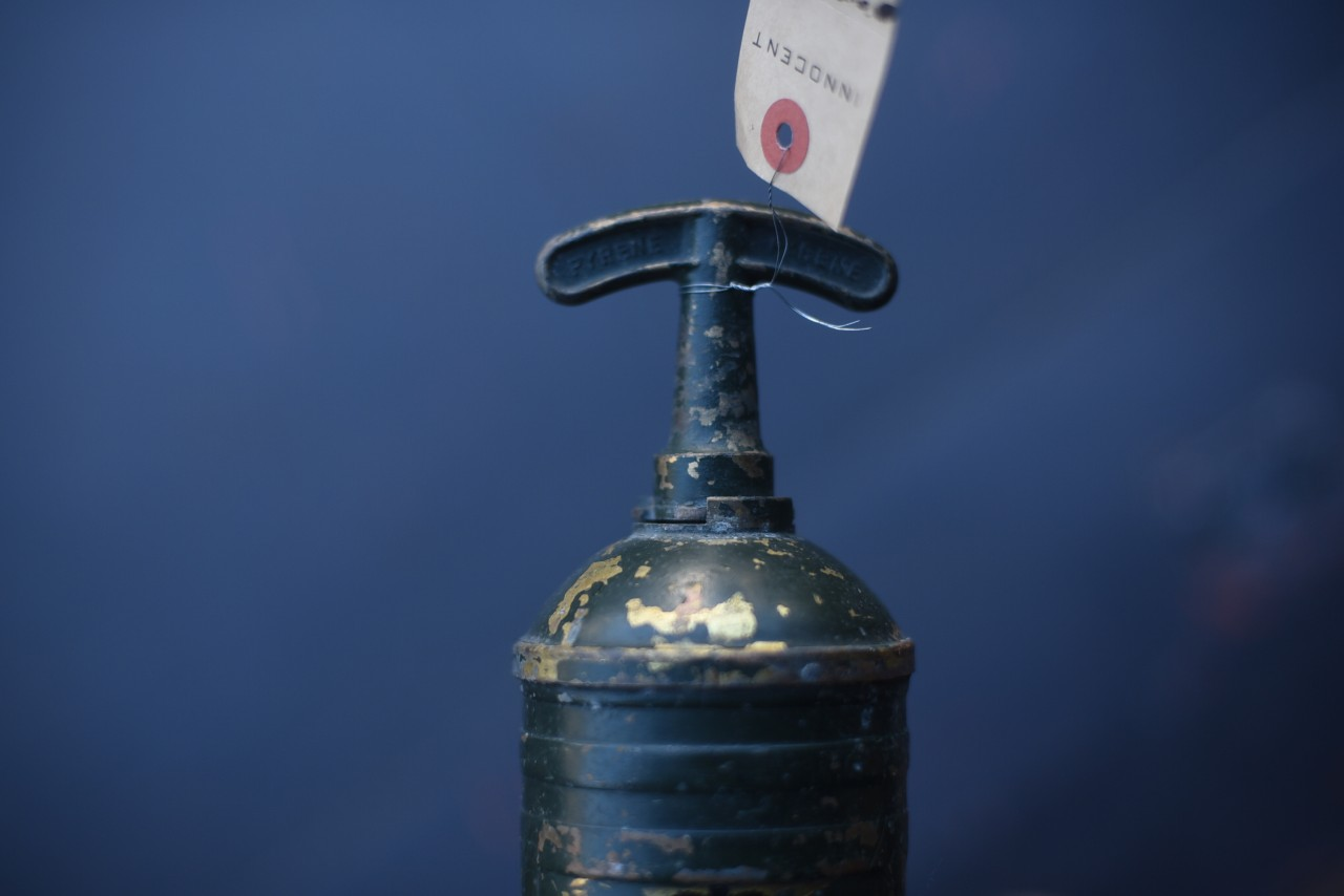 UK 消火器 FIRE EXTINGUISHER 真鍮 ブラス 英国 101106