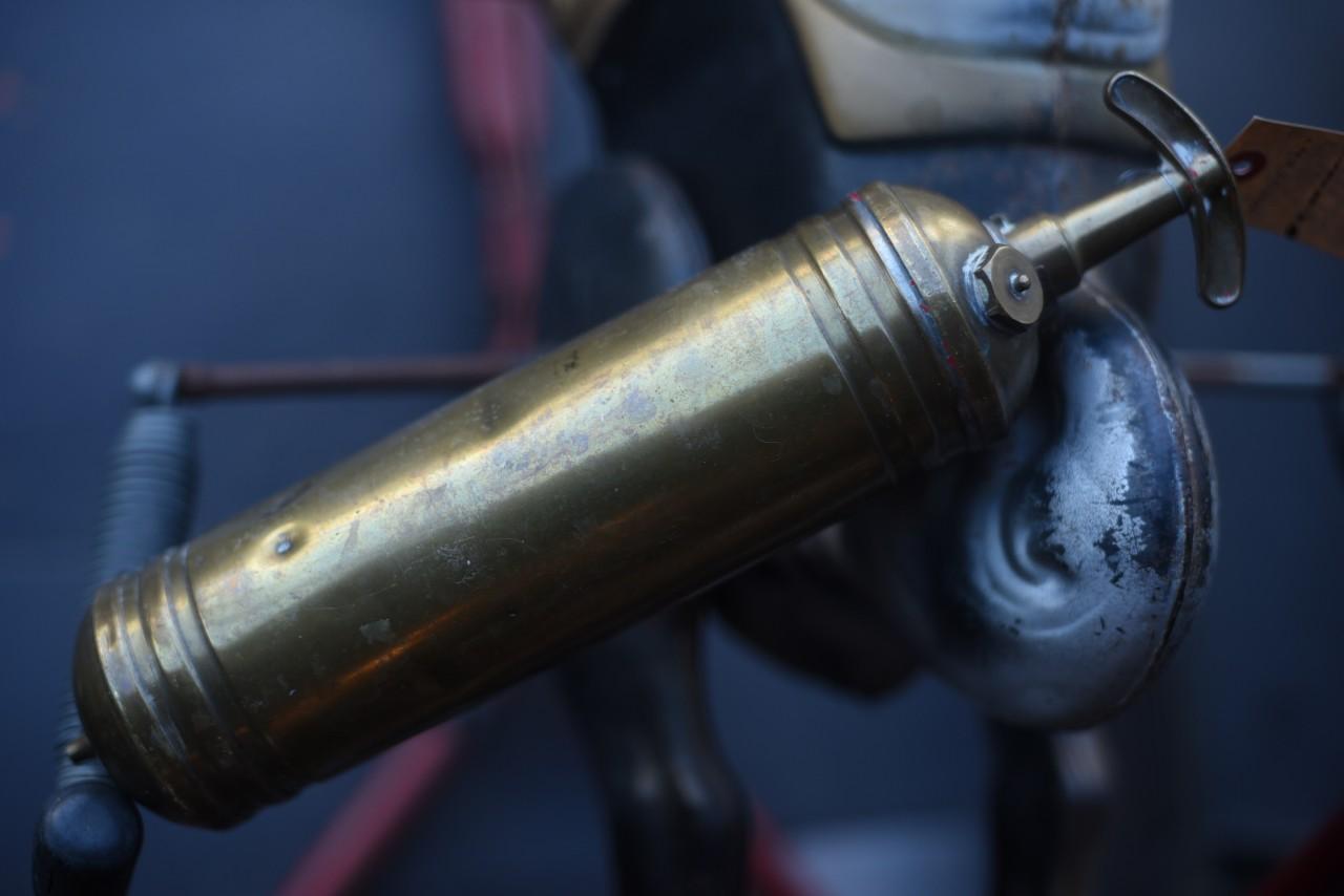 UK 消火器 FIRE EXTINGUISHER 真鍮 ブラス 英国 101110