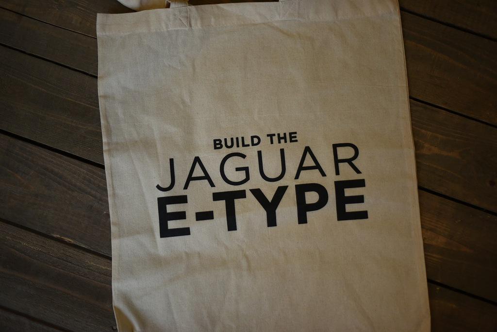 104019 ジャガー ジャグアー「JAGUAR E-TYPE」 トートバッグ MADE IN ENGLAND
