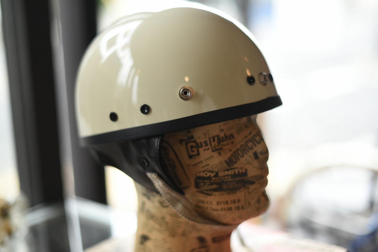 2021年 再入荷分 VINTAGE STYLE ヴィンテージスタイル ハーフヘルメット ファイバーシェル本革製 MADE IN TOKYO