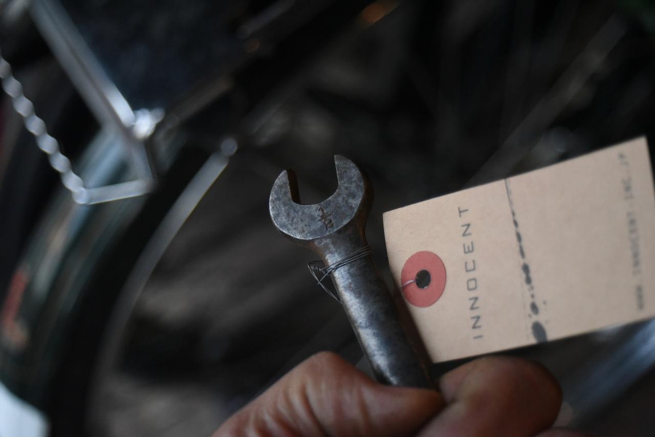 102673 UK ヴィンテージ スパナ ツール 英国  在庫あり