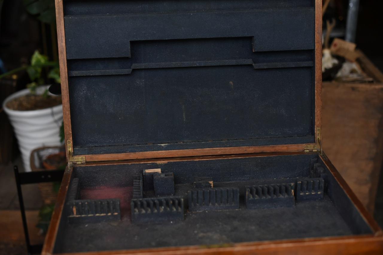 001106 ヴィンテージ ウッドボックス 木製箱