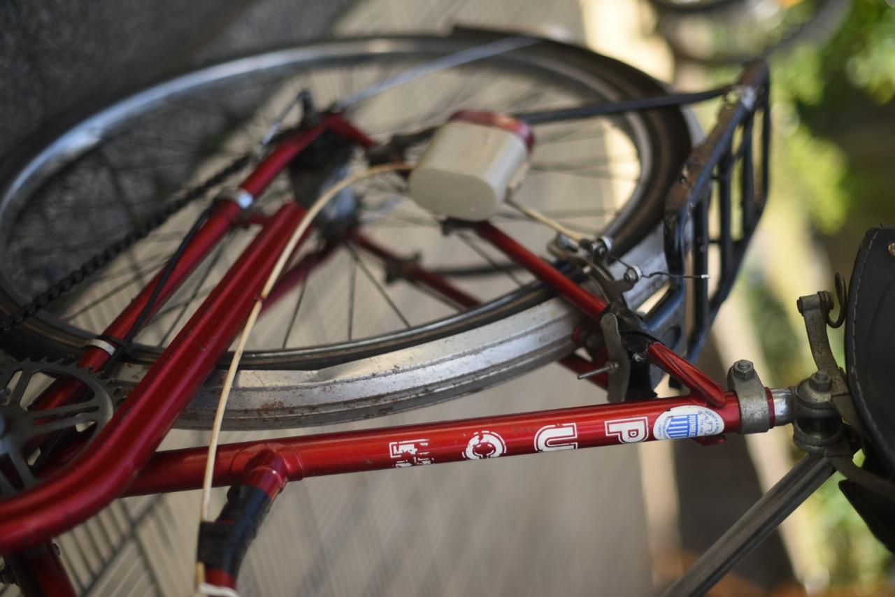 102854 ヴィンテージ 自転車 1978年製 「PUCH  TALEDO」  プフ オーストリア軍用車両企業