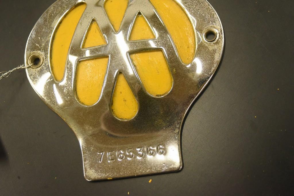 104658 ヴィンテージ AA 「Automobile Association」 カーバッチ エンブレム