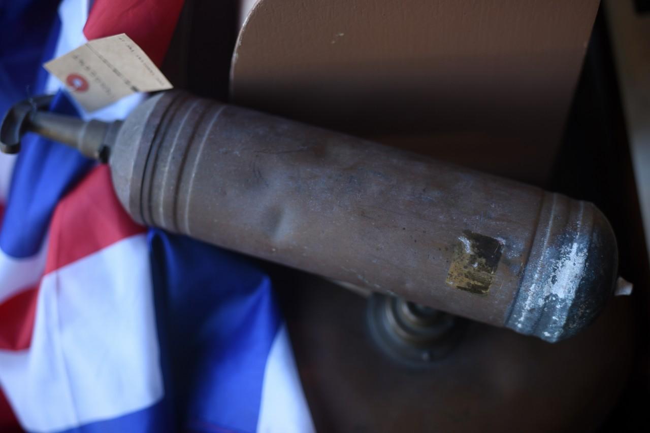UK 消火器 FIRE EXTINGUISHER 真鍮 ブラス 英国 101107