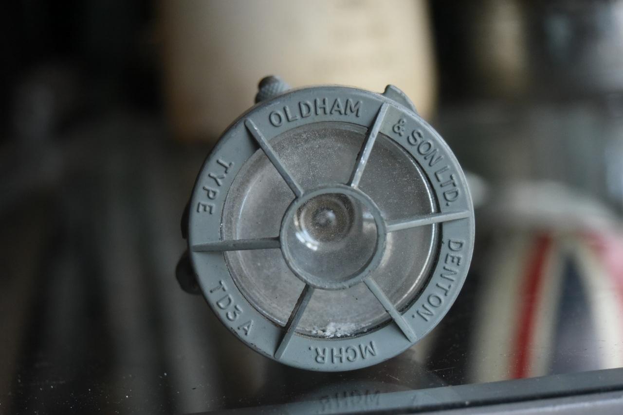 102096 UK ヴィンテージ ライト 懐中電灯