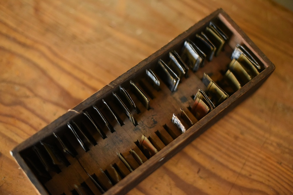 103946 ヴィンテージ ブラス 「3/4INCH」 ブラスステンシル 真鍮