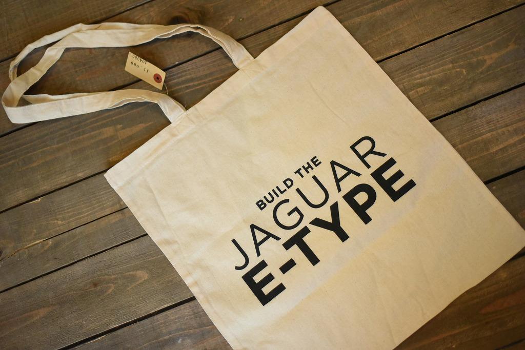 104020 ジャガー ジャグアー「JAGUAR E-TYPE」 トートバッグ MADE IN ENGLAND