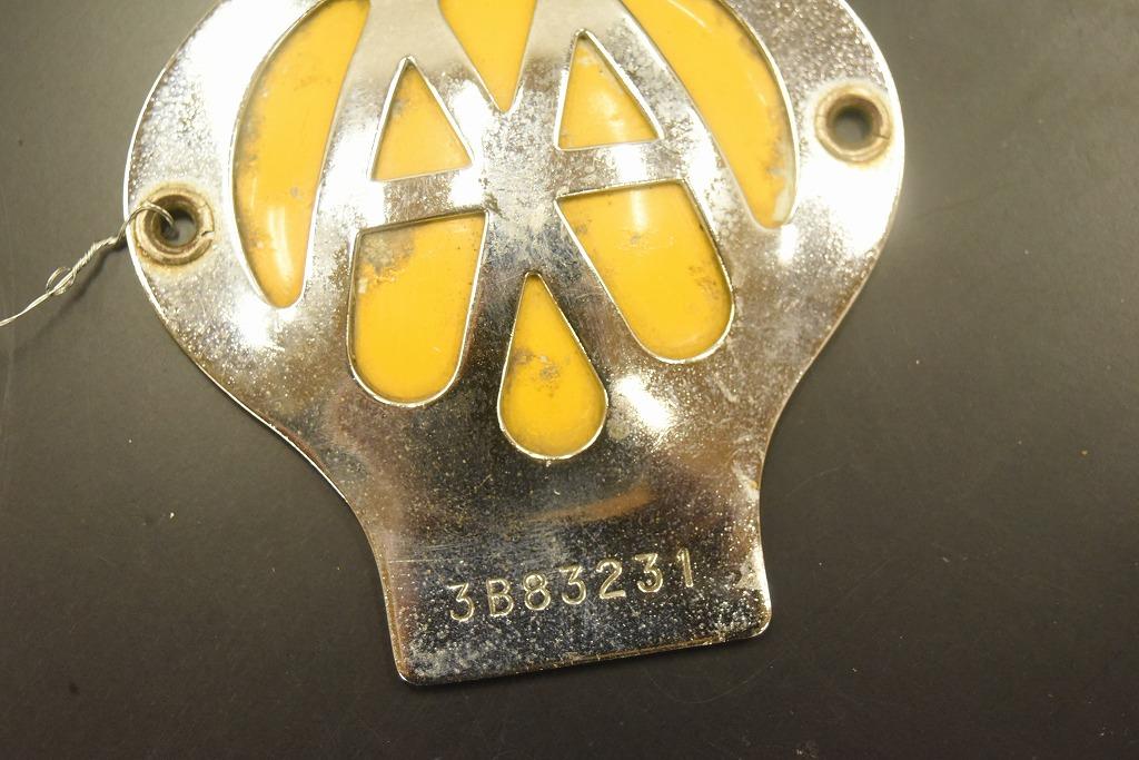 104673 ヴィンテージ AA 「Automobile Association」 カーバッチ エンブレム