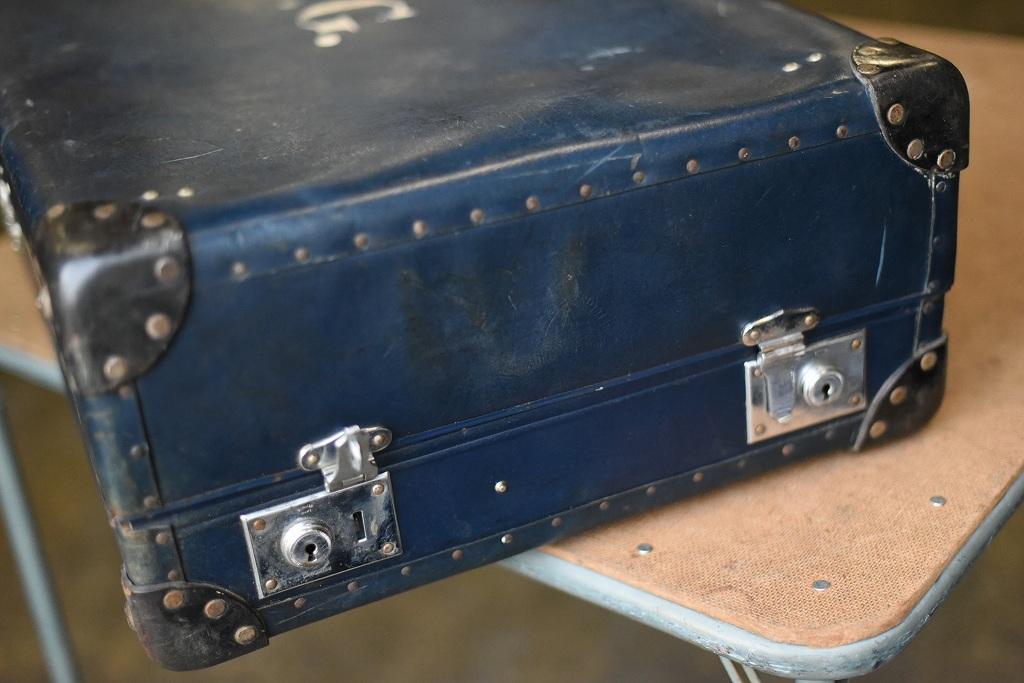 103593 UK ヴィンテージ 英国 グローブ トロッター 「GLOBE TROTTER」 BRITISH MADE刻印
