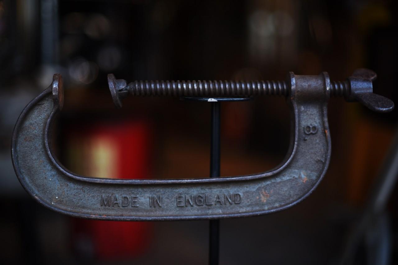 ヴィンテージ MADE IN ENGLAND バーコ型万力 ヴァイス 101655