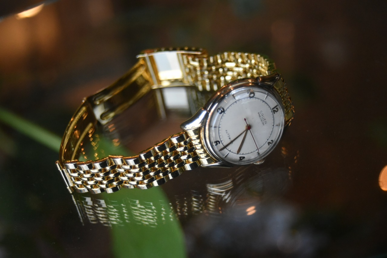 102825 腕時計 「GRUEN」 グリュエン 1950年代