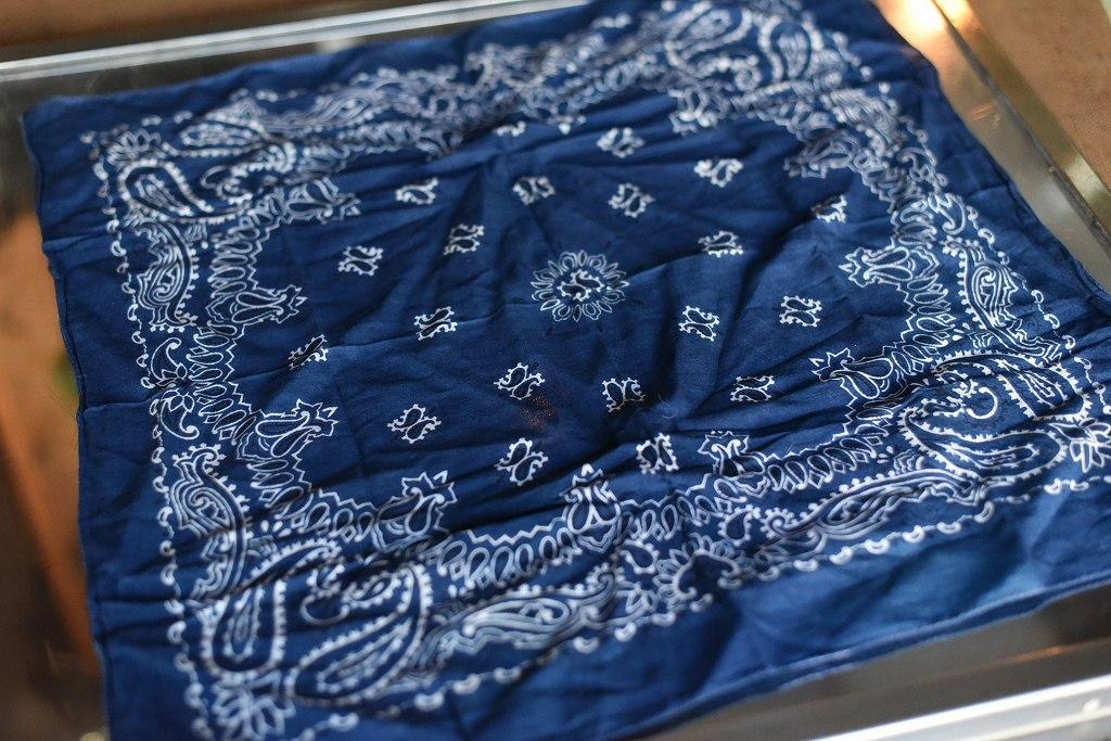 103319 ヴィンテージ バンダナ スカーフ