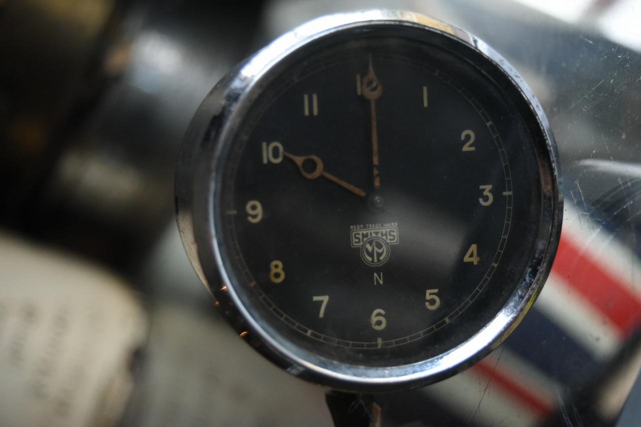102087 UK ヴィンテージ SMITHS スミス メーター 時計