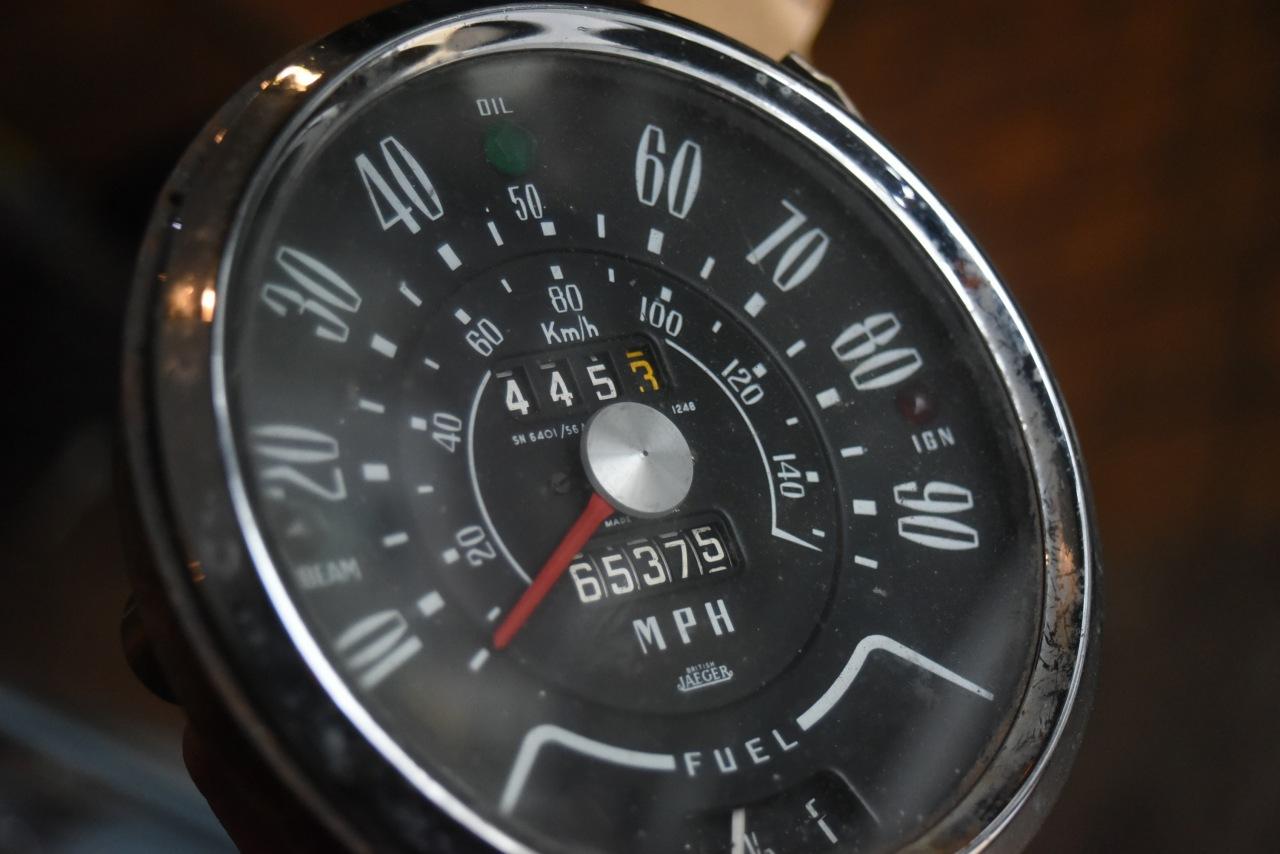 102262 UK ヴィンテージ JAEGER イエーガー メーター