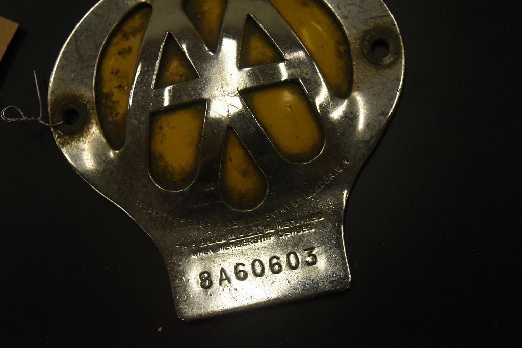 104652 ヴィンテージ AA 「Automobile Association」 カーバッチ エンブレム