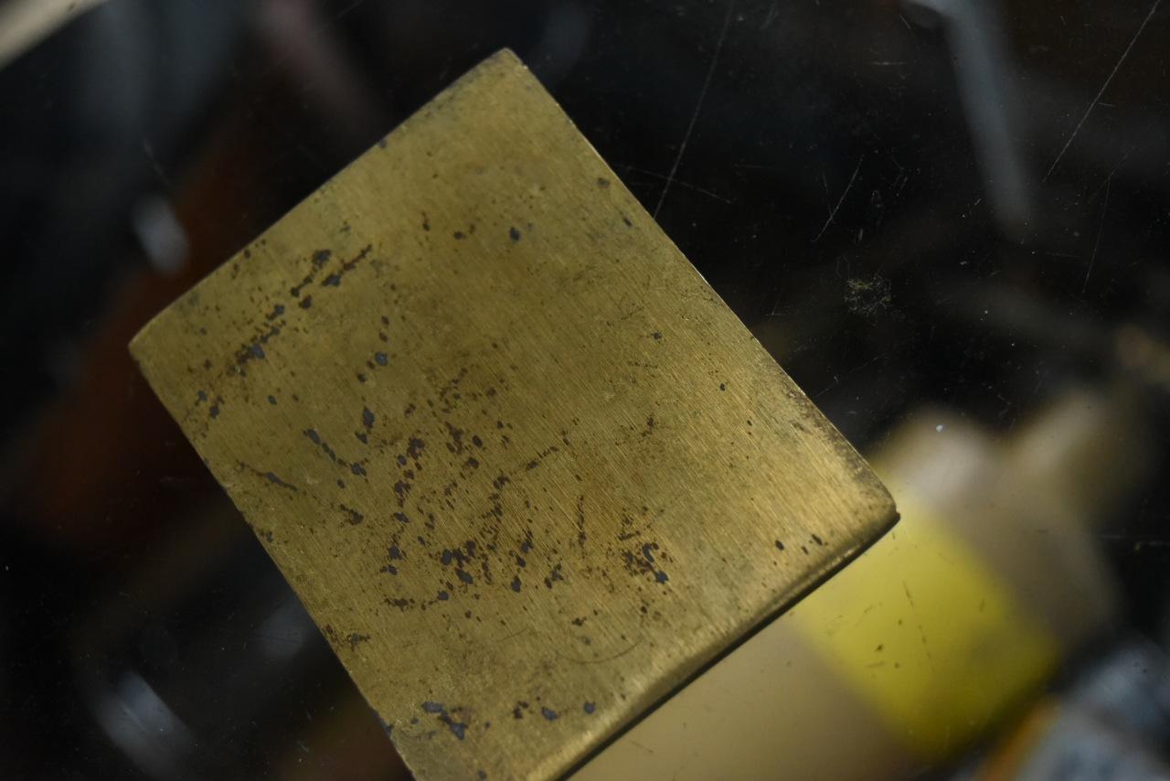 102094 UK ヴィンテージ 真鍮製 エンブレム
