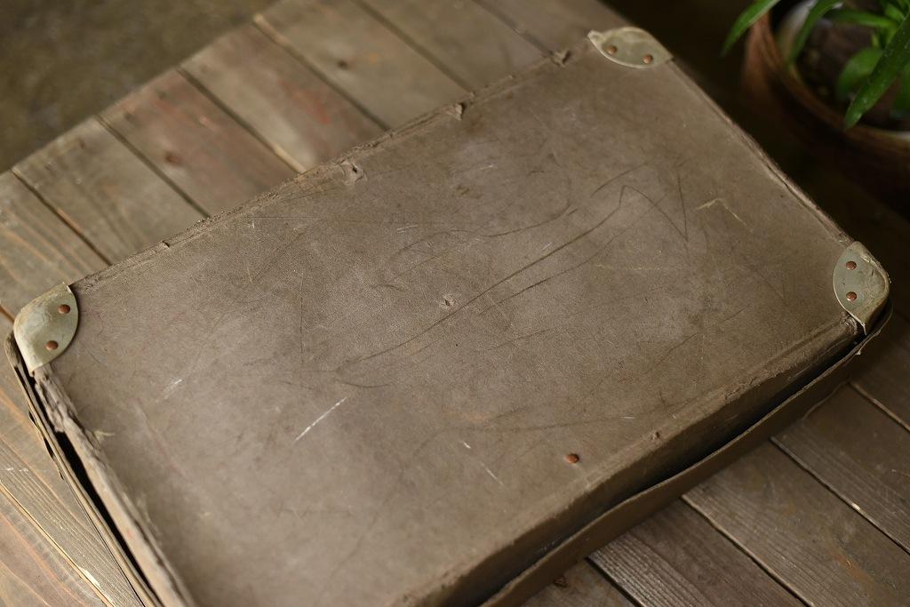 104014 ヴィンテージ ランドリーボックス 英国 VINTAGE LAUNDRY BOX