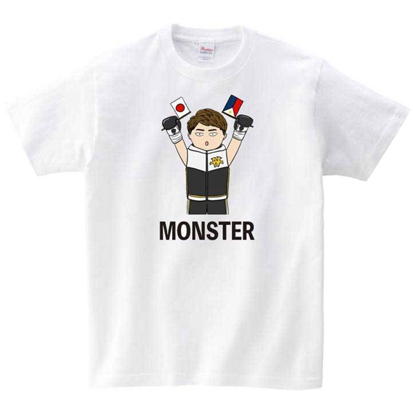 MONSTERイラストTシャツ [2021 JUNE.Ver]