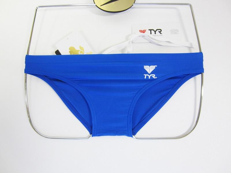 別注 TYR(ティア) スイムショップイノウエ 限定 競パン ブルー 競泳水着