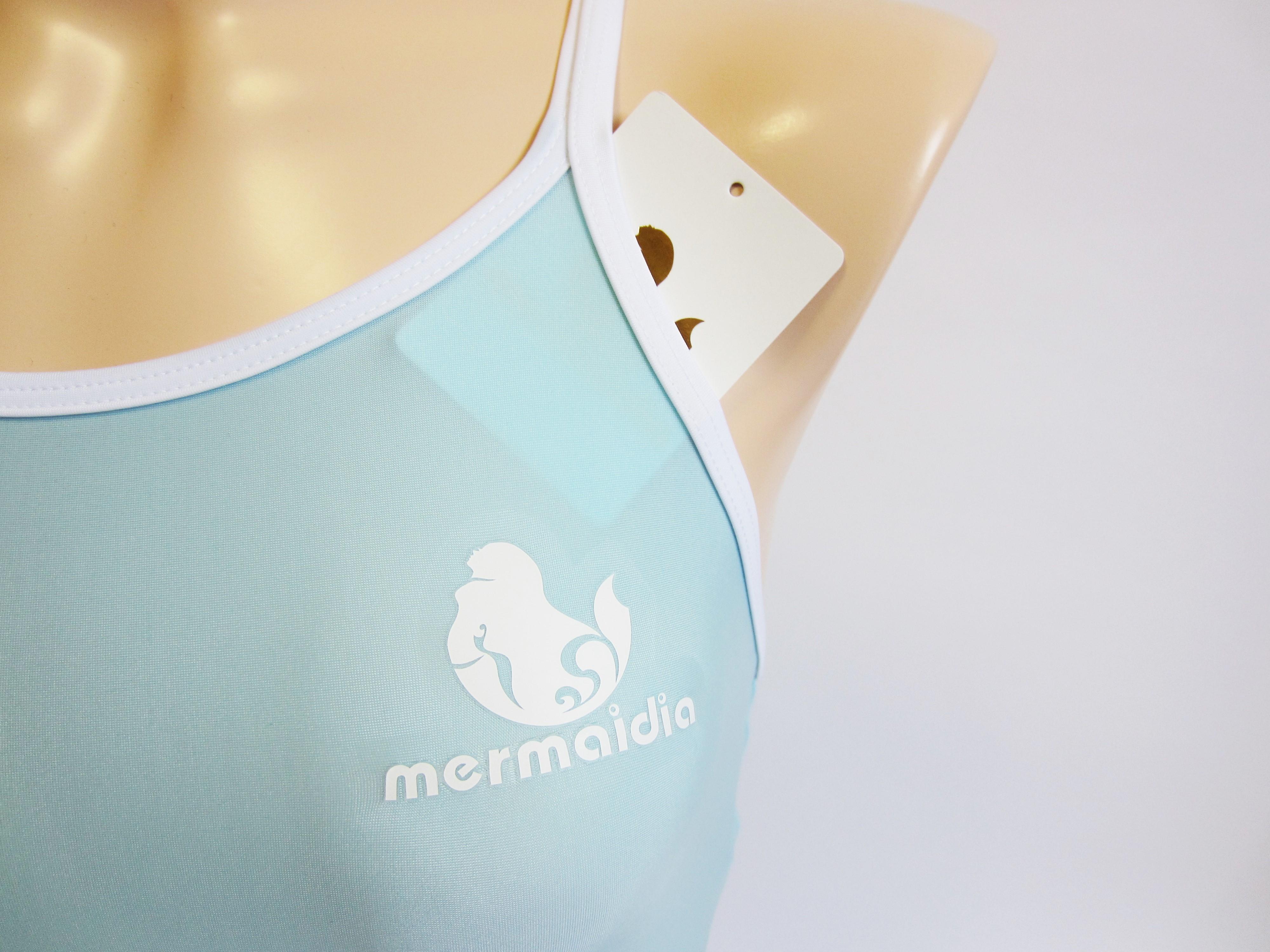 アクアミスト × ホワイト Mermaidia (マーメイディア) スクール水着
