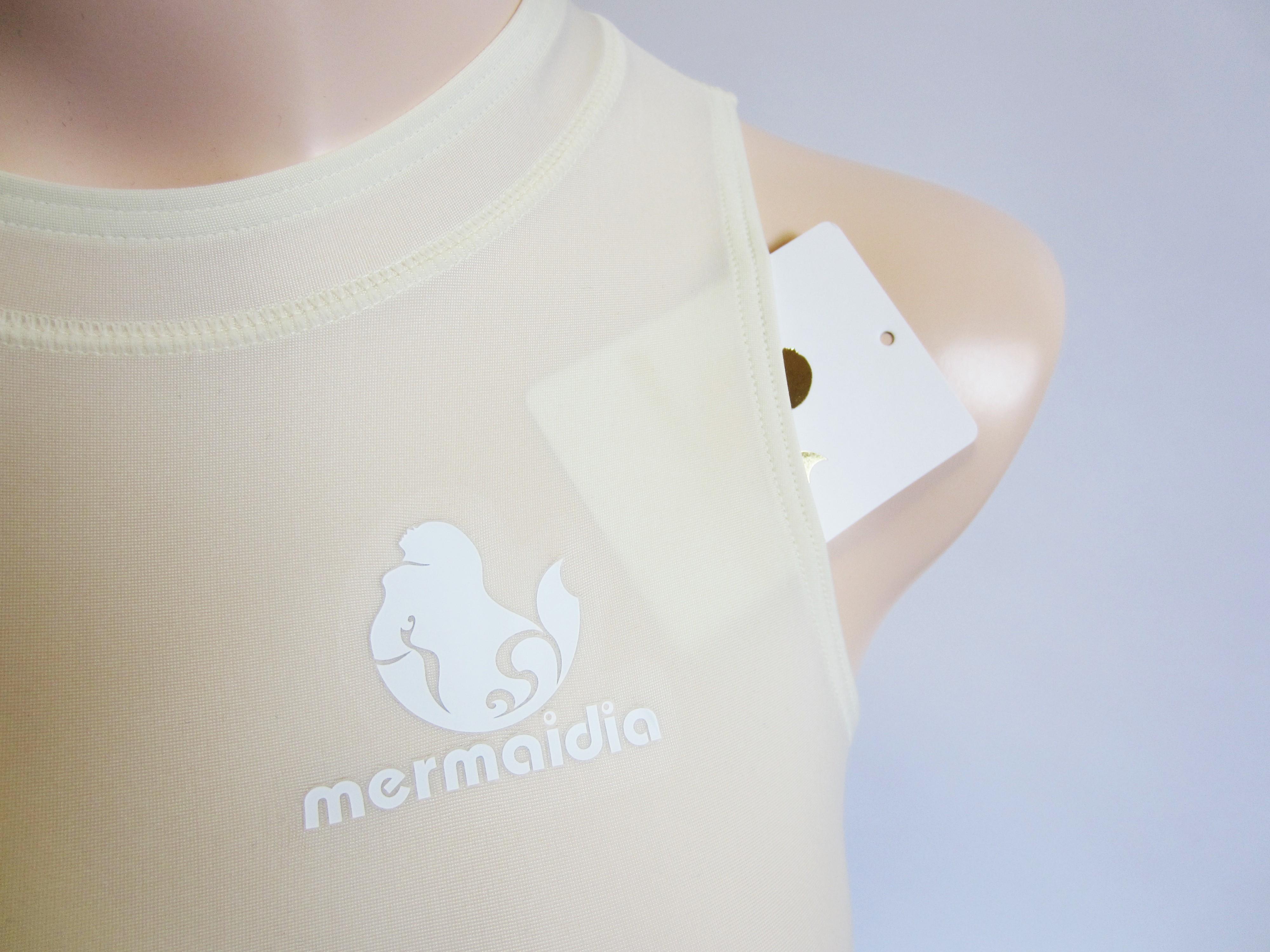Mermaidia (マーメイディア) 女性用水球水着  ミルクティー