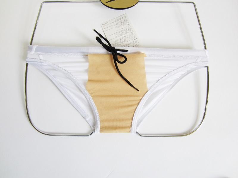 別注 asics ハイドロCD ホワイト スパイラルカット   通称「 白アシ 」 アシックス 競パン