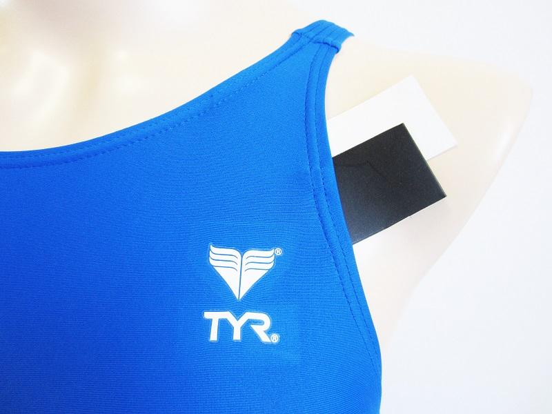 別注TYR(ティア)スイムショップイノウエ限定 競泳水着 ブルー