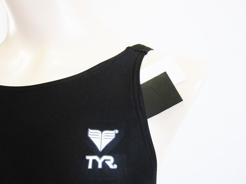 別注TYR(ティア) スイムショップイノウエ限定 競泳水着 ブラック