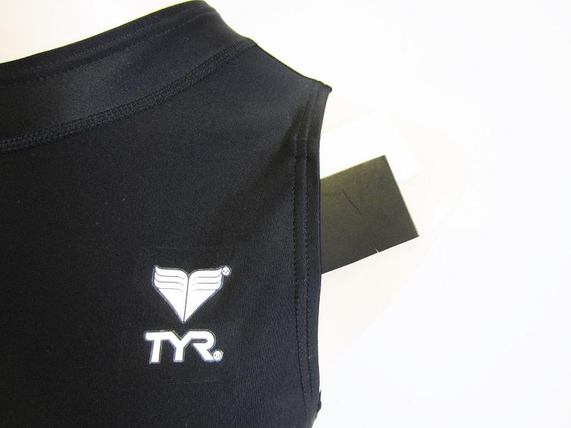 別注 TYR(ティア) スイムショップイノウエ限定 水球水着 ハイネック競泳水着 ブラック