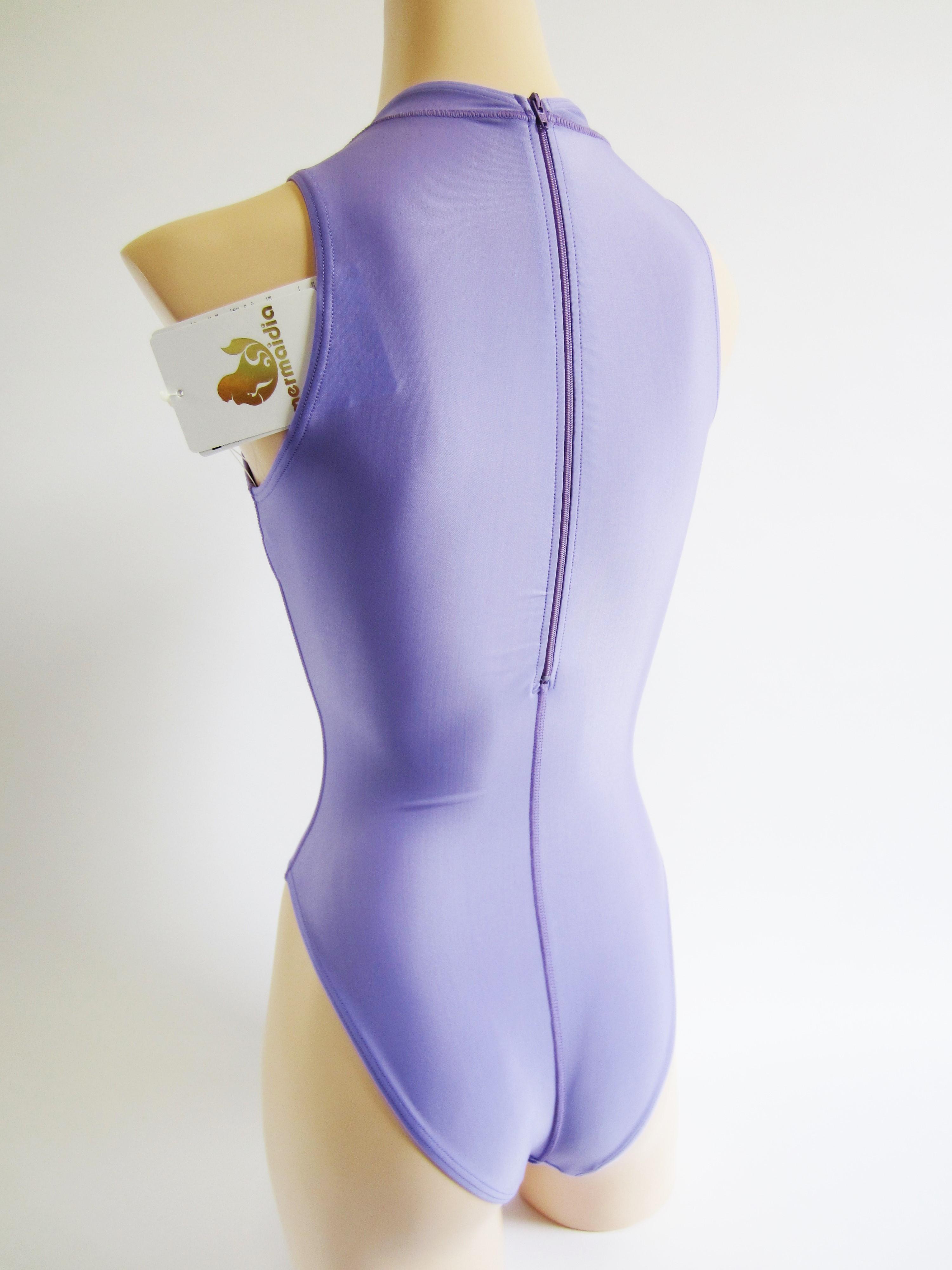 Mermaidia (マーメイディア) 女性用水球水着 ハイネック ラベンダー