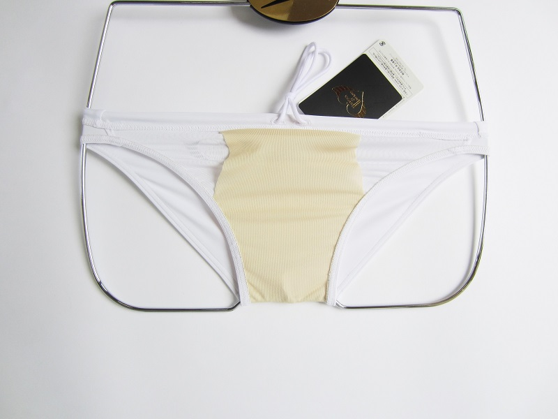 完全別注【極パン&#174;きょくぱん】ホワイト インナー<br/>・ロゴ「あり」 透けにくい生地 競パン