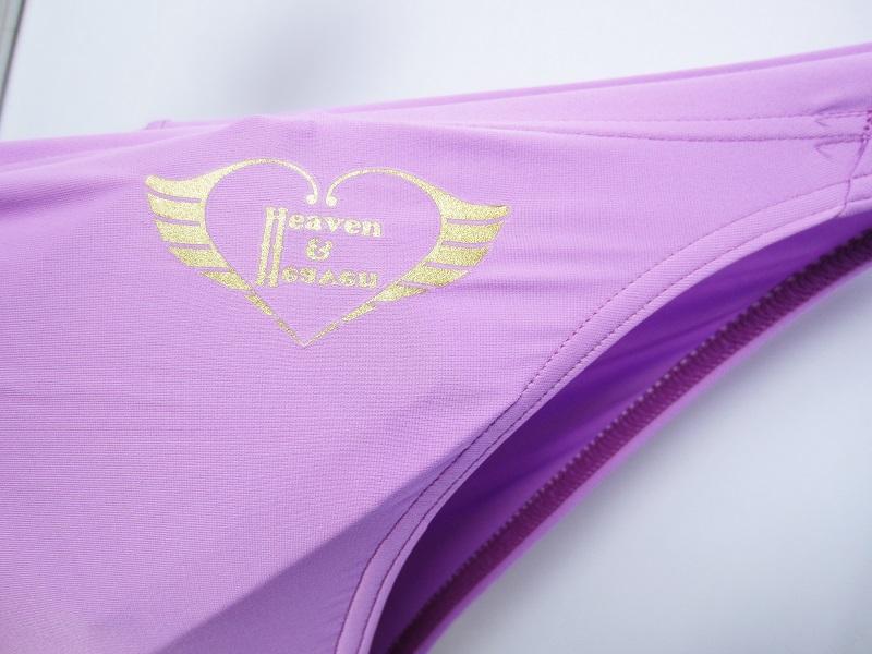 完全別注(極パン&#174;きょくぱん) ライラック(透けにくい仕様) <br>Heaven&Heaven (ヘブンアンドヘブン) 競パン ロゴ「あり」
