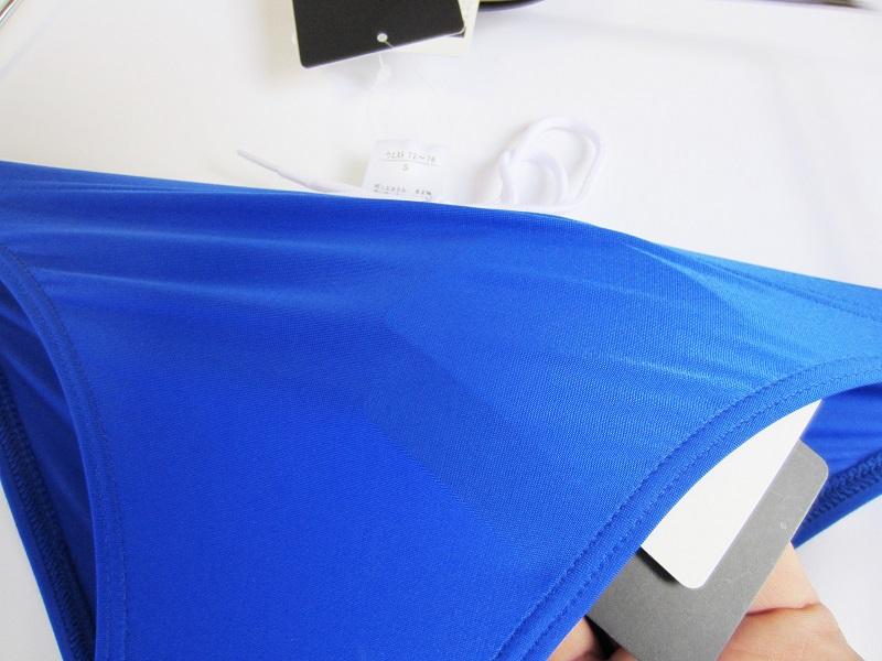 完全別注【極パン&#174;(きょくぱん)】ロイヤルブルー<br/>ロゴ「あり」 透けやすい生地 競パン