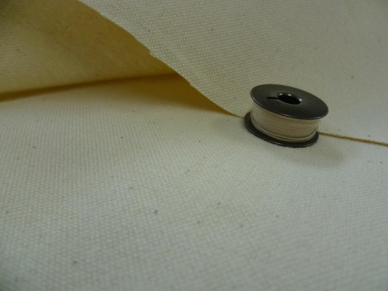 綿11号帆布キバタ(きなり) 118cm巾1Mの価格です
