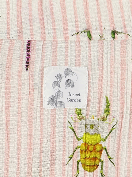 KODOMO Insecte 楊柳2WAY浴衣&ワンピース rose
