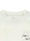 太陽に当たると昆虫ゲット!?お空にとんぼTシャツ ホワイト オーガニックコットン使用